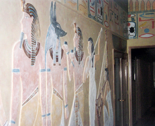 Egyptian mural relief paulo jimenez fine art for Egyptian mural painting